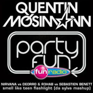 Quentin Mosimann supports Da Sylva mashup ''smell like teen flashlight'' on Fun Radio