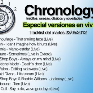Chronology 22may2012