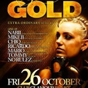 dj Mike B @ Club Glamour - Gold 26-10-2012