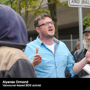 UOT interviews Aiyanas Ormond (April 27, 2015) - BDS Condemns Air Canada.