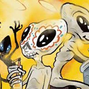 alien party in my basement