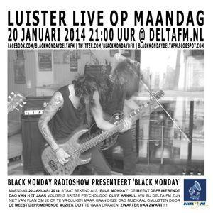 Black Monday Metal Hour 20-01-2014 Blue Monday meets Black Monday