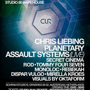 Monoloc - Live @ CLR Studio 80 Warehouse party - 22-02-2013