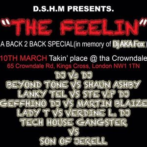 THE FEELIN Promo Mix (TECH HOUSE GANGSTER) Dj Wayne funky Antony