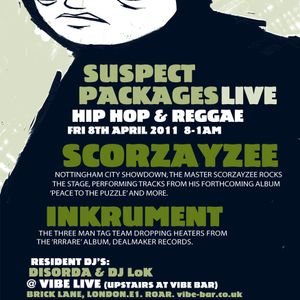 Suspect Packages Radio Show (April 2011)