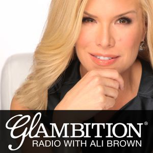 Sharon Lechter, co-author of Rich Dad Poor Dad and financial literacy expert on Glambition Radio wit