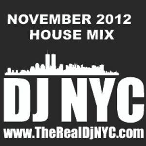DJ NYC's November 2012 House Mix