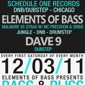 Elements of Bass LIVE @ BASS&BLISS (12-3-2011)