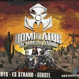 DJ Beatsbomber' Dominator Festival 2015 Warm-up