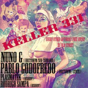 Nuno G live at Keller331 DeepHouse/DeepTech 30Nov2013