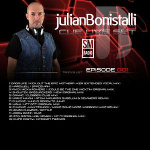 Julian Bonistalli - Cue Live Set episodio 1 - 09 Aprile 2013