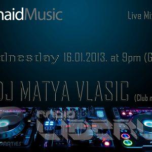 Mermaid Music show w/ LIVE mix in studio by DJ MATYA VLASIC