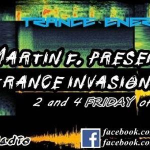 Martin F. - Trance Invasions 127 (Alter Future Guestmix) [13.01.2017]