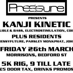 Pressure Promo Mix March 2010