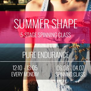 Summer Shape Indoor Cycling - Stage 2: Advanced Endurance