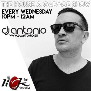 The House & Garage Show with DJ Antonio - 28th June 2017