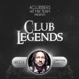 4Clubbers Hit Mix Team presents Club Legends #004 - Christophe Le Friant (2017)