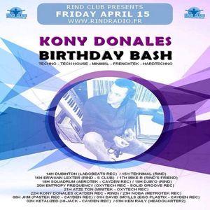 Squadrum @ Rind Club pres. Kony Donales Birthday Bash [Rindradio.fr] 15.04.2016