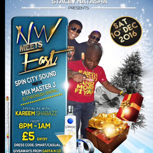 NORTH WEST MEETS EAST PART ONE 1 SPINCITY MEETS MIX MASTER J 10-12-16