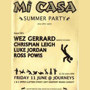 Wez G -  Live @ Mi Casa, Journeys, Cardiff 11.06.04