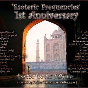 Franzis-D - Esoteric Frequencies 1St Anniversary @ Tm-radio.com (Aug 04, 2012)