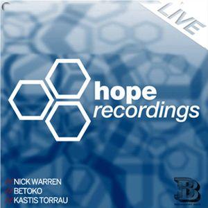 Nick Warren @ Hope Recordings Showcase (Bedroom Bar)