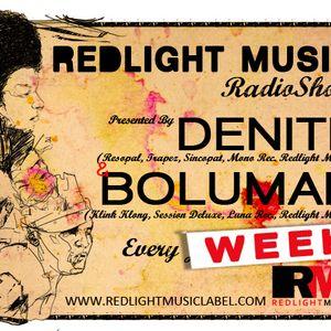 Redlight Music Radioshow 017 // By Bolumar (English)