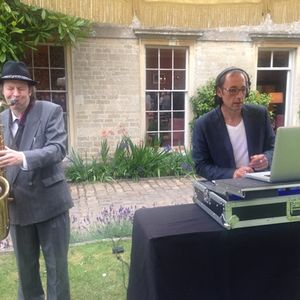 Tropical Champagne Reception with Live Sax