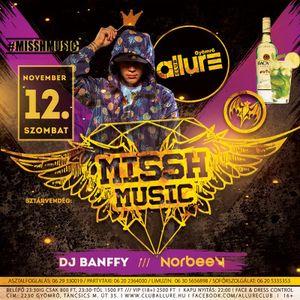 CLUB-ALLURE-LIVE-2016.11.12 - DJ BANFFY - NORBEE V
