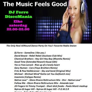 Dj-Ferre Dance Emotions AllRound Dance  - Every Saturday On Accent Fm Belgium