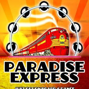 promo PARADISE EXPRESS MIX by dj Luis Yanguas, Madrid - compiled by Yanguas & mr Malenka