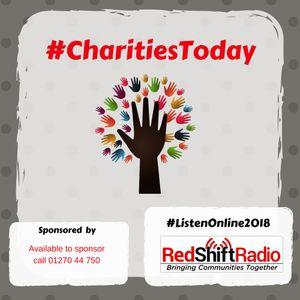 #CharitiesToday - 1 June 18 - AgeUK Cheshire and CRUK in the studio