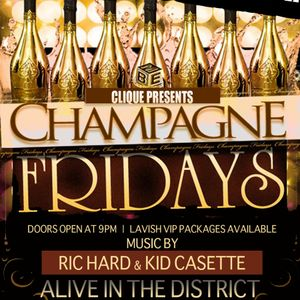 CHAMPAGNE FRIDAYS AT ALIVE - PROMO MIX
