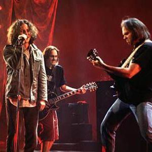 Neil Young with Pearl Jam -1995-08-12 Stockholm, Sweden
