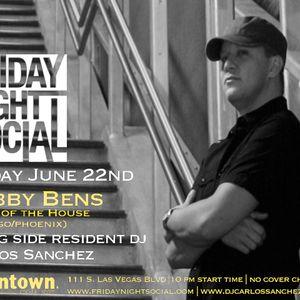 Bobby Bens Live @ Friday Night Social_6_22_12