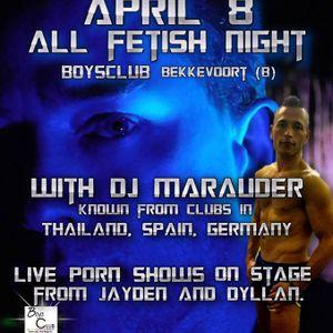 DJ Marauder - Live at Boysclub Belgium 2017-04-08