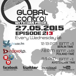 Dan Price - Global Control Episode 213 (27.05.15)
