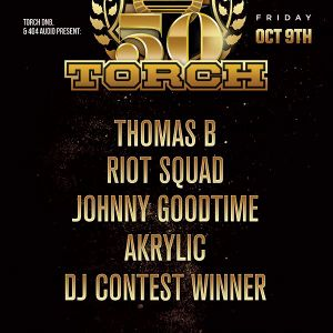 TORCH: Johnny GoodTime - Live @ Torch - 10.9.15 [Torch 50th Show]