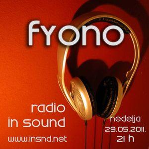 Fyono @ In Sound Radio, 29.05.2011