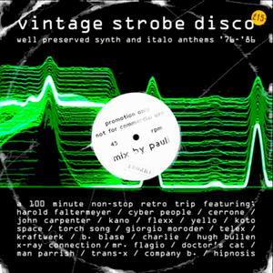Vintage Strobe Disco