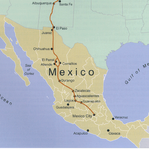 Paseos culturales: Camino Real Tierra Adentro