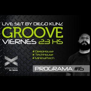 Groove #16 @ Vorterix Bahía (emitido el 28-04-17)