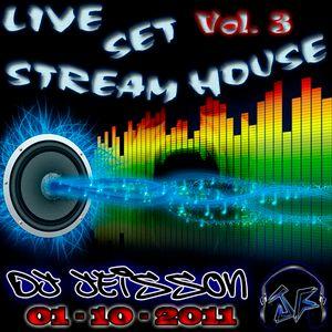 LiveSet StreamHouse Vol.3 - Dj Jeisson (01-10-2011) - www.JeissonForero.com