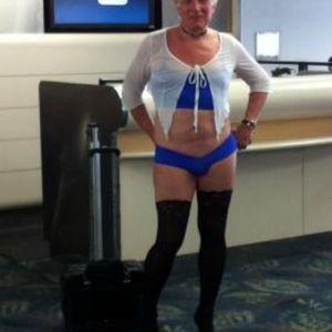 Man in Women's Underwear on a U.S. Airways Flight!  Coffee, Tea or WTF?