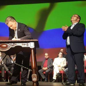 Firma Nuevo Acuerdo de Paz con las Farc