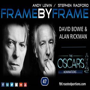 Episode 47 - David Bowie and Alan Rickman tributes