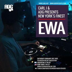 CARL J & ADG PRESENTS NEW YORK'S FINEST - EWA