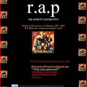 Rap Analyst's Perspective Session 1: Only Built 4 Cuban Linx