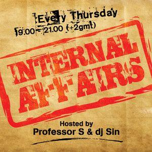 Internal Affairs radio show - S01E03 (01-11-2012)