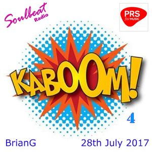 The Kaboom Show 4 - Broadcast live Fridays 8pm-10pm on Soulbeat Radio